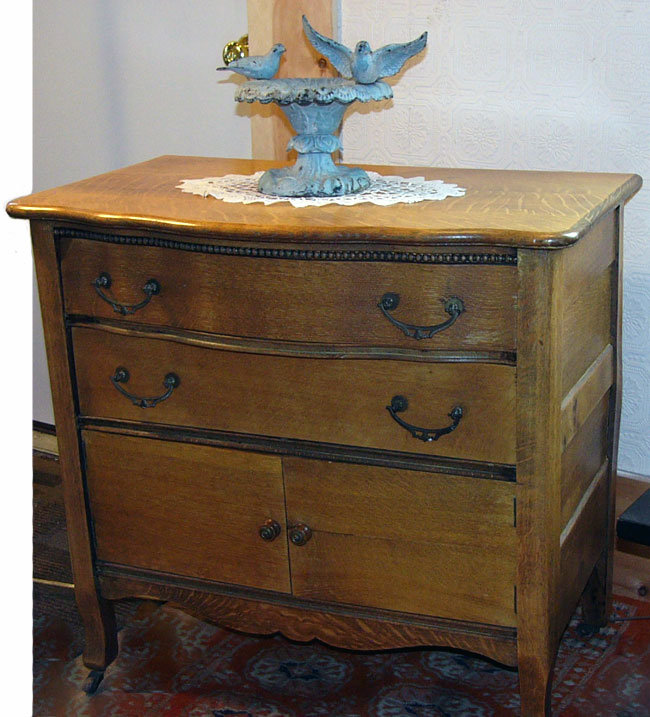 two draw commode