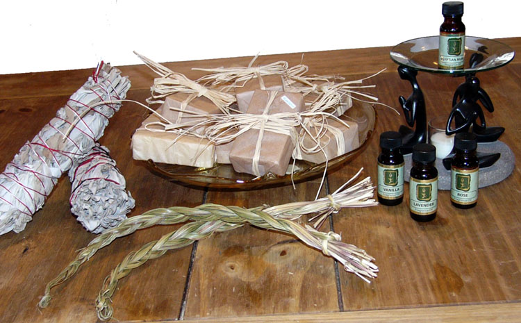 soaps sage sweetgrass